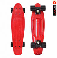 Penny board Y-SCOO 22 Classic red
