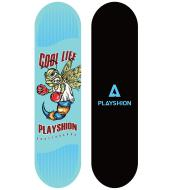 Скейтборд Playshion COOL LIFE, размер 31,5х8
